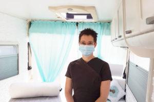 Mesures de protection pour l'ouverture du Massage Truck