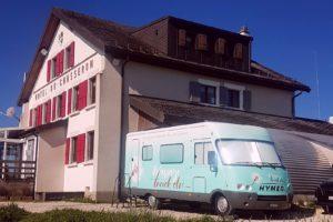 Le Massage Truck au Chasseron